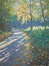 Autumn Light II by James Preston -  sized 24x32 inches. Available from Whitewall Galleries